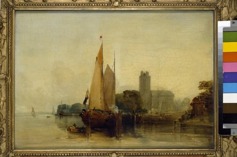 River Scene near Dordrecht (WA1937.39)