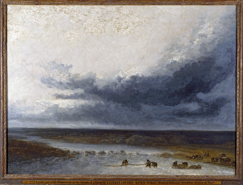 Landscape with Fishermen at the Mouth of a River (WA1937.46)