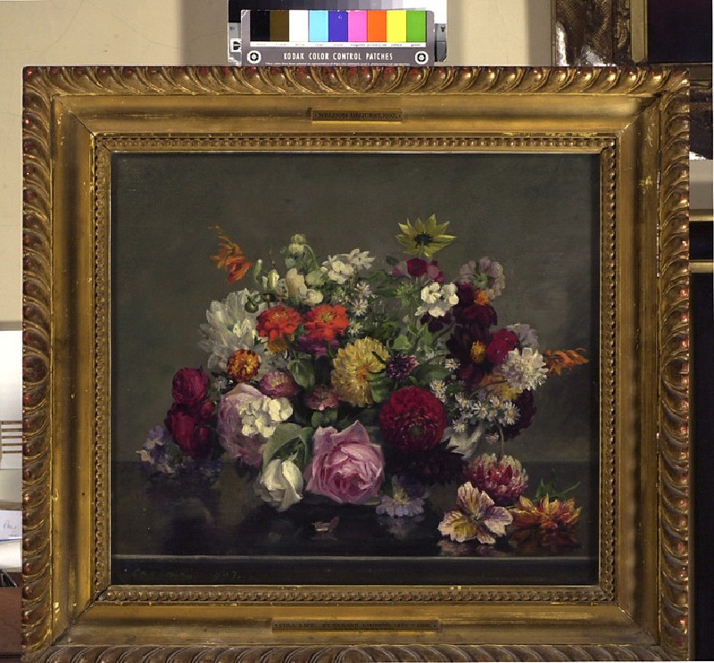 Still Life: a Bowl of mixed Flowers (WA1937.53)