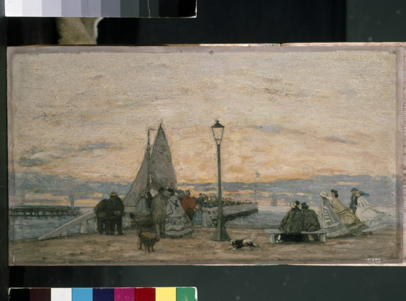 The Jetty at Trouville