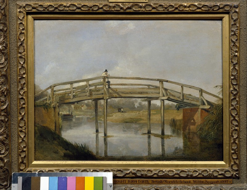 Landscape with a River and Bridge