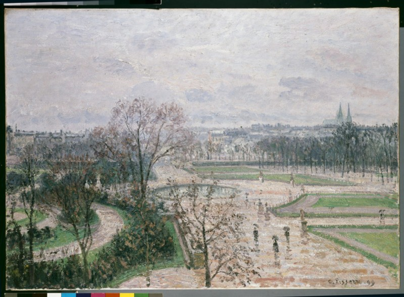 The Tuileries Garden in the Rain (WA1937.73)