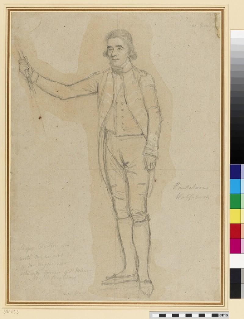 Portrait of Major Alexander Beatson (WA1937.82.4)