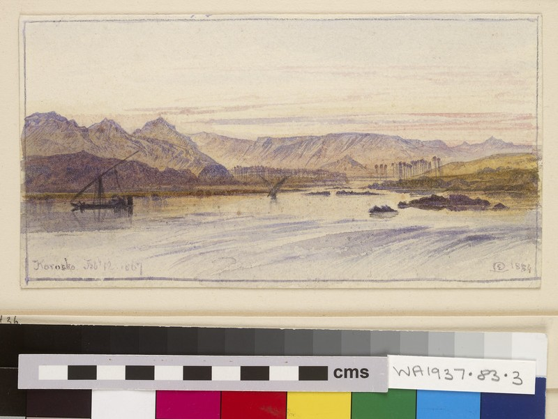 Korosko, Aswan Province, Egypt (WA1937.83.3)