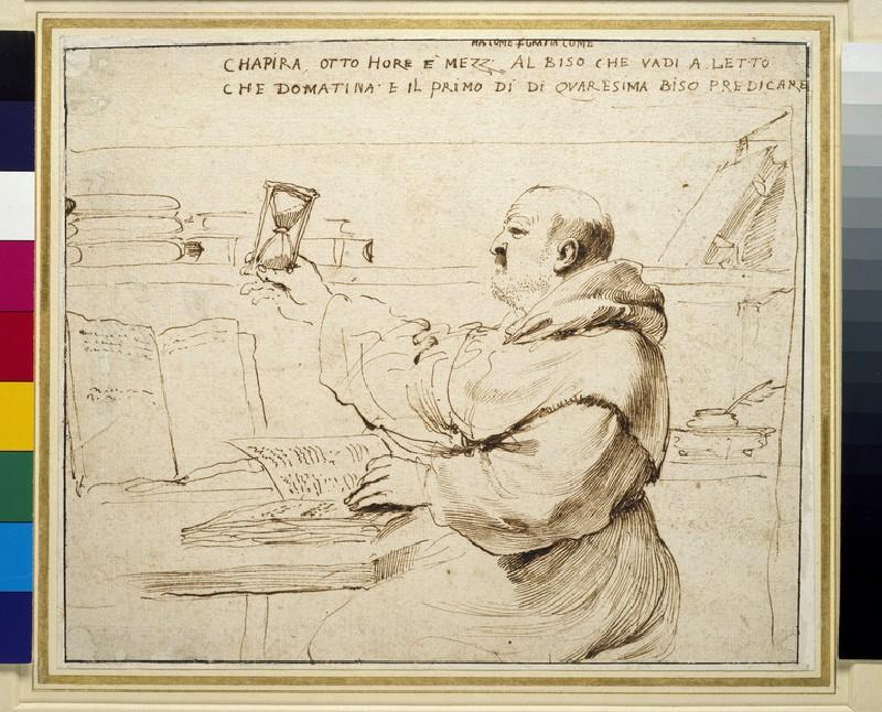 Caricature of Fra Bonaventura Bisi (WA1938.81)