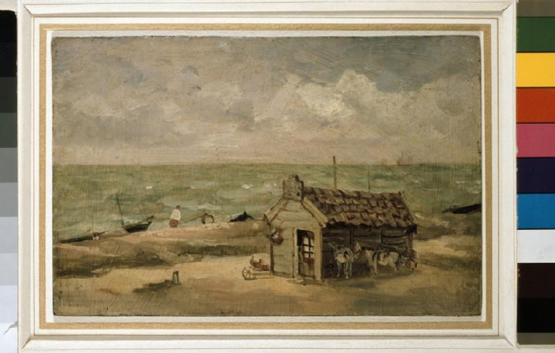 A Fisherman's Hut by the Sea (WA1938.84)