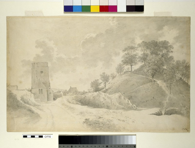 Oxford Castle and the Castle Mound (WA1939.129)