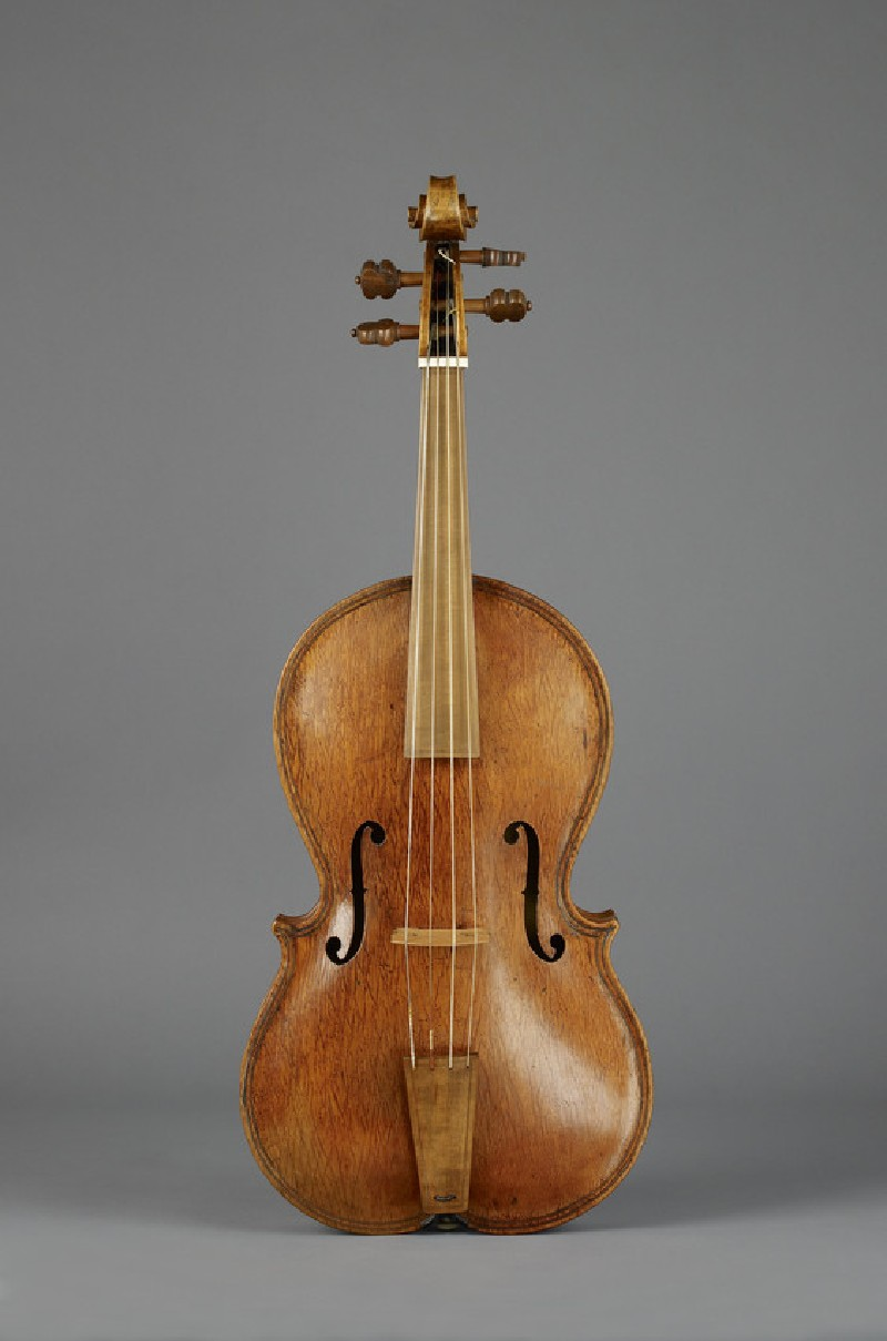 Viola (probably converted from a 'lira da braccio')