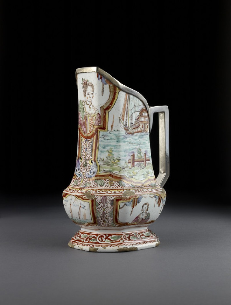 Jug, converted from a vase