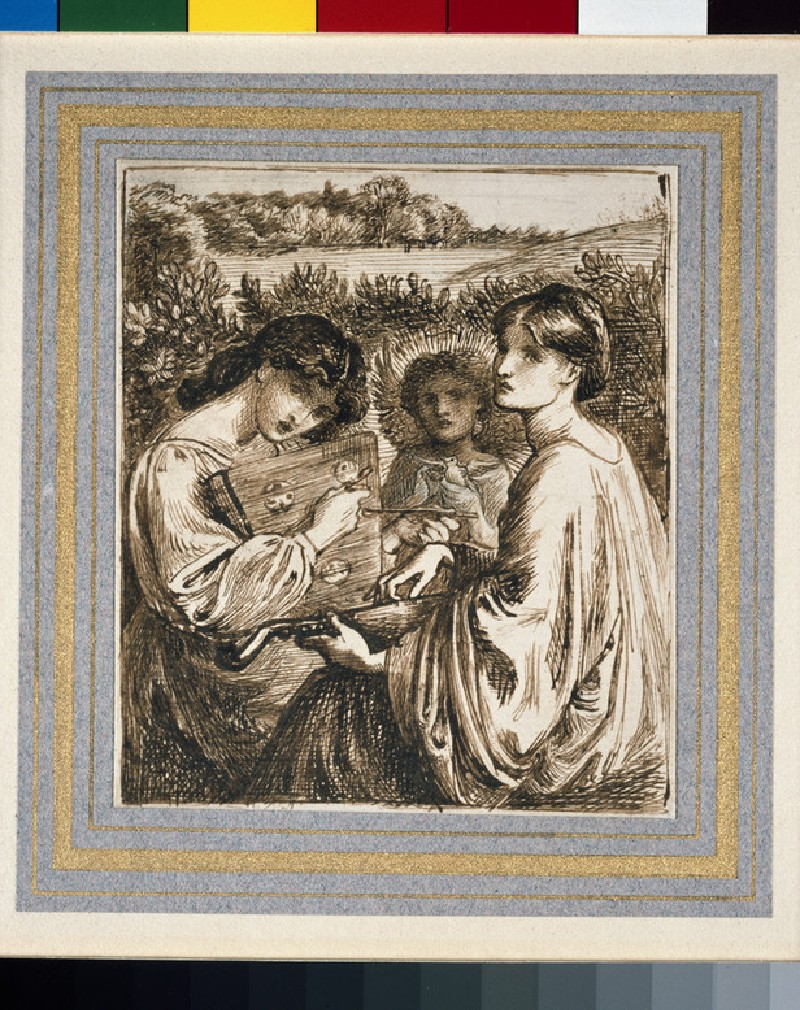 Study for 'The Bower Meadow' (WA1939.7)