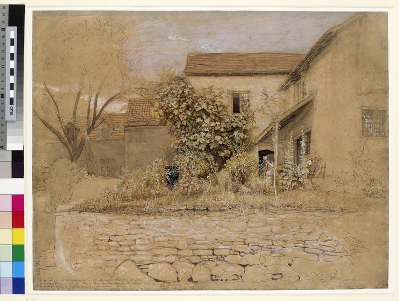 A House and Garden at Tintern