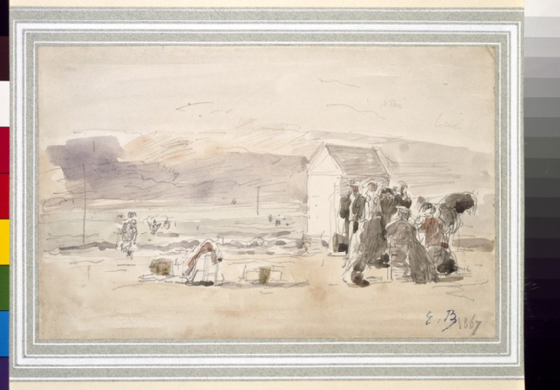 Figures on the seashore (WA1939.97)