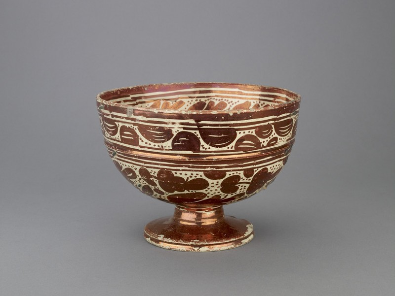 Bowl with a bird (WA1940.11.1)