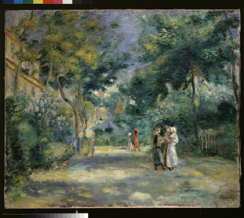 The Garden at the Chateau des Brouillards, Montmartre