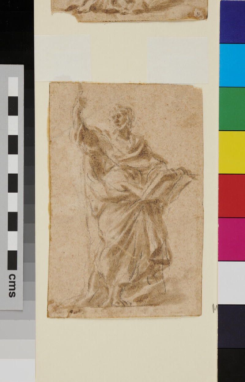 An Apostle (WA1940.1.85.2, recto)