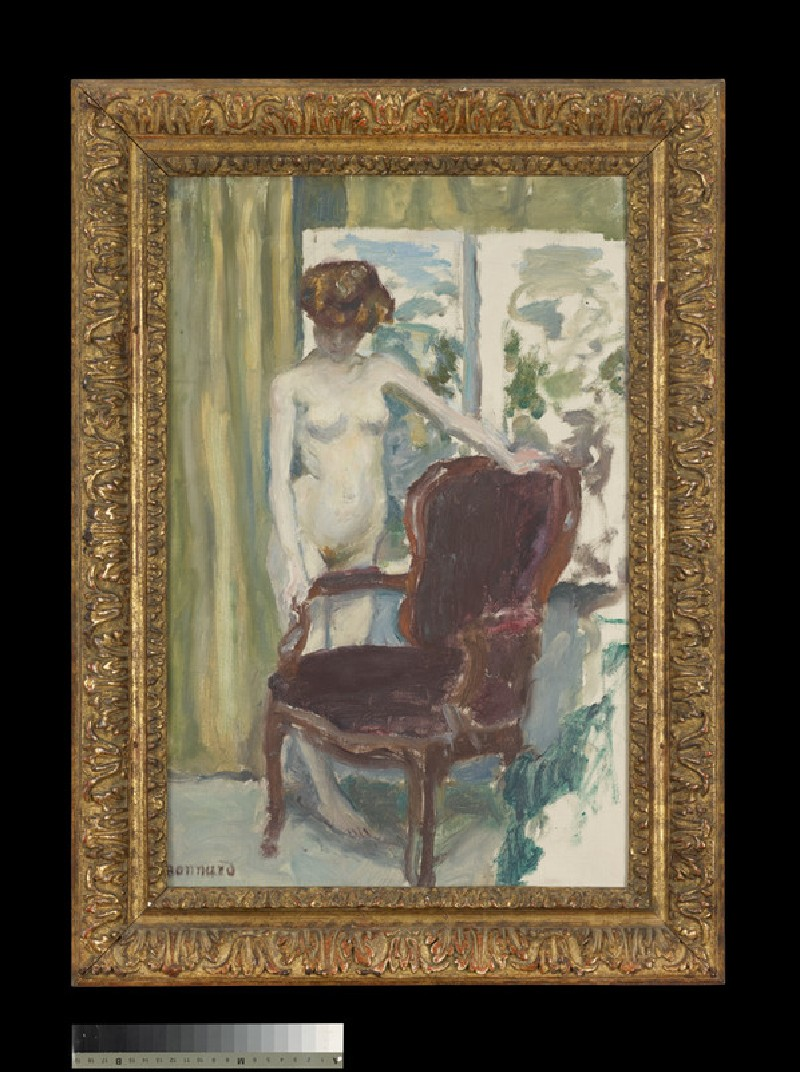 Interior with a Nude Figure (WA1940.1.9)