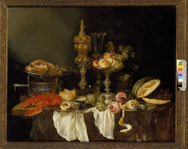 Still Life with a Lobster and Turkey (WA1940.2.11)