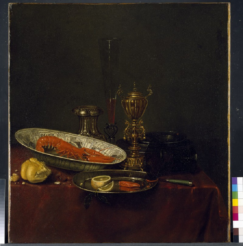 Still Life with a Lobster (WA1940.2.28)