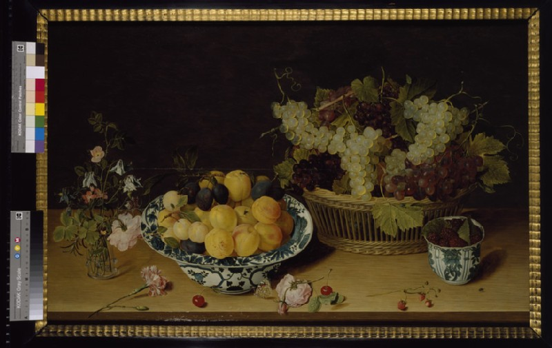 Still life of Fruit and Flowers (WA1940.2.70)
