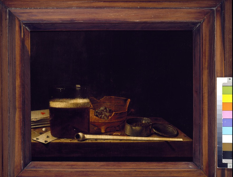 Still Life with a clay Pipe (WA1940.2.83)