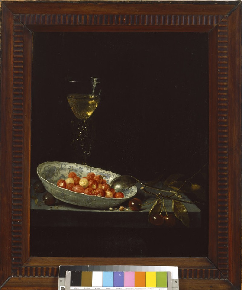 Still Life with Strawberries and Cherries (WA1940.2.85)