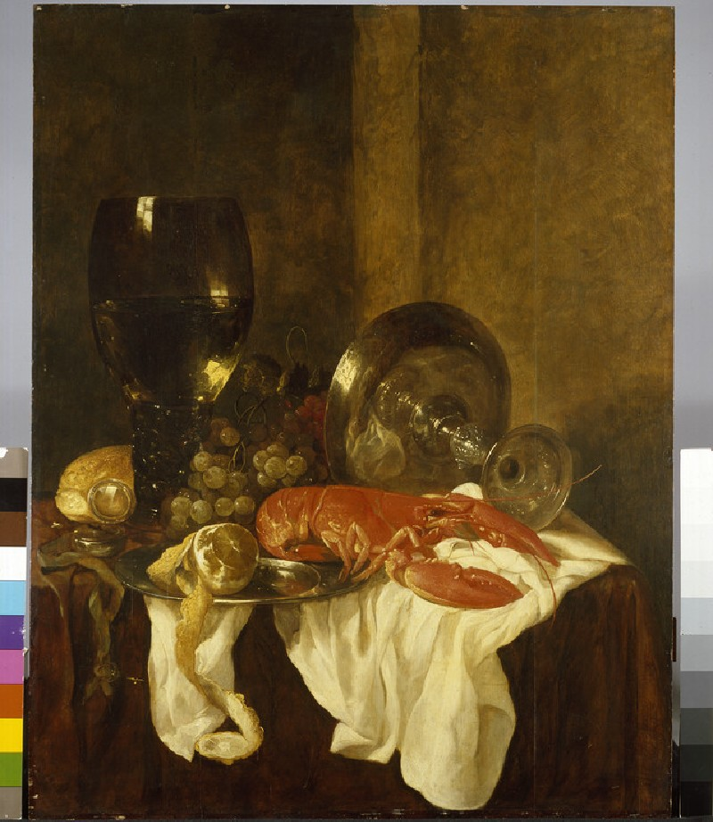 Still Life with a Lobster (WA1940.2.9)