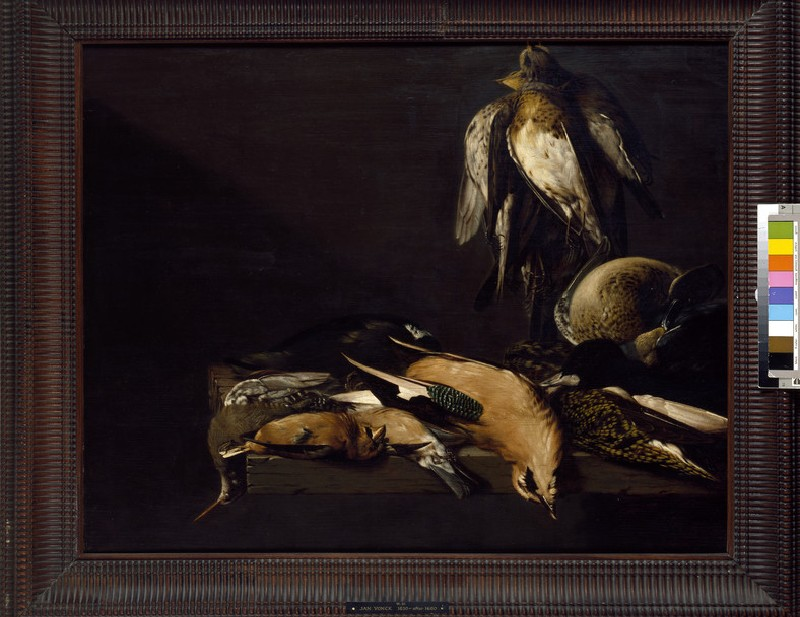Still Life of Game with four Plovers (WA1940.2.91)