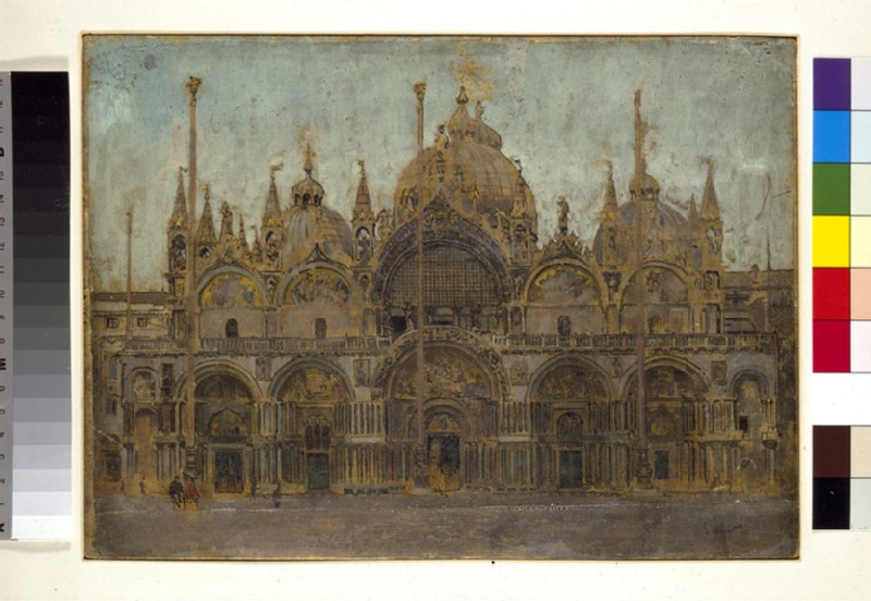 St Mark's, Venice: The West Front