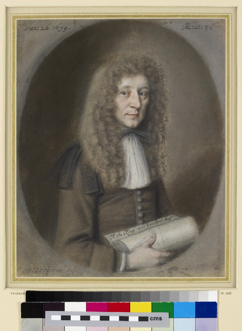 Portrait of a Man, probably Thomas Dare