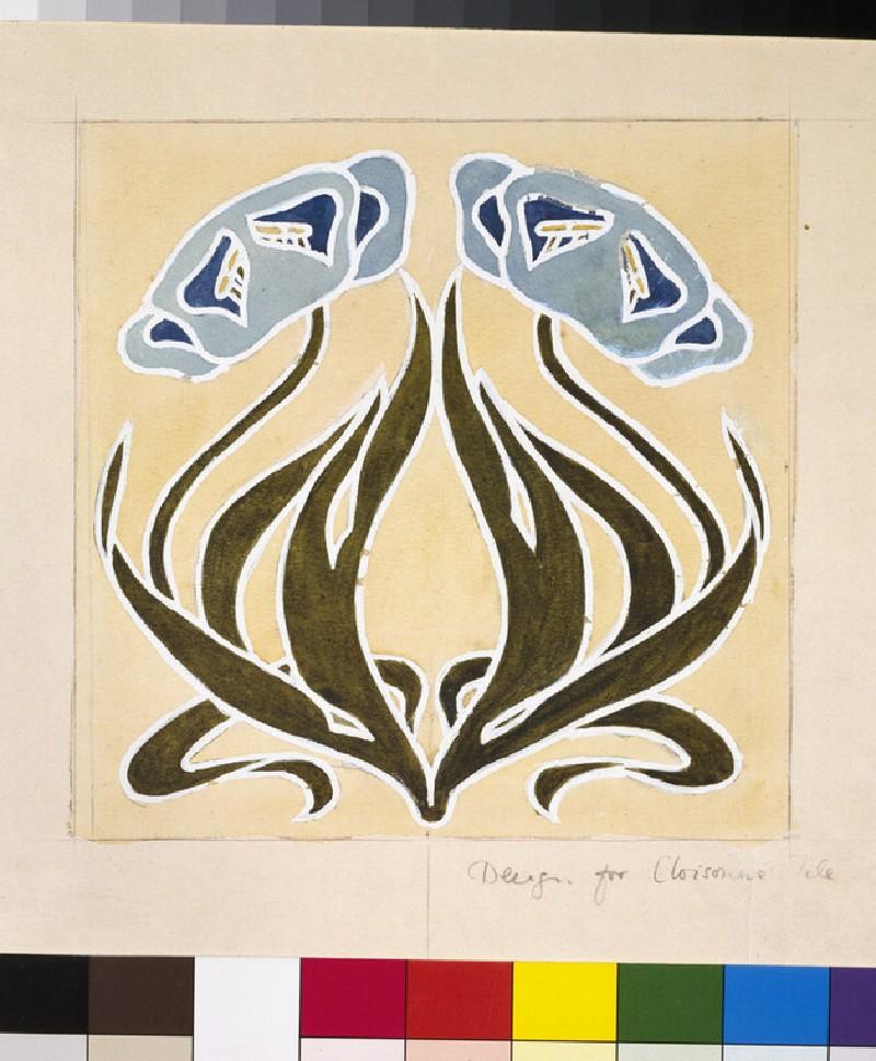 Design for a 'Minstrel Tile'