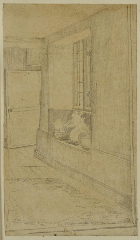 Passageway at Kelmscott Manor (WA1941.108.16)