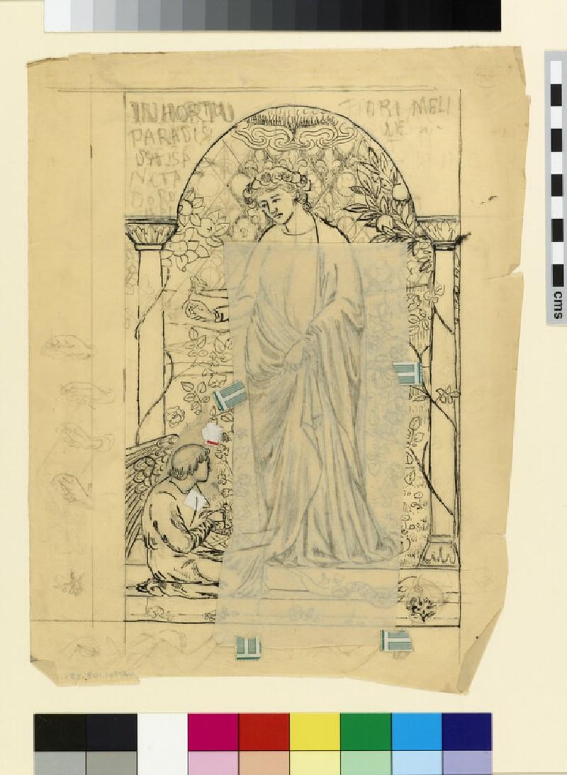 In Hortu Paradisu: St Dorothy (WA1941.108.281.1)