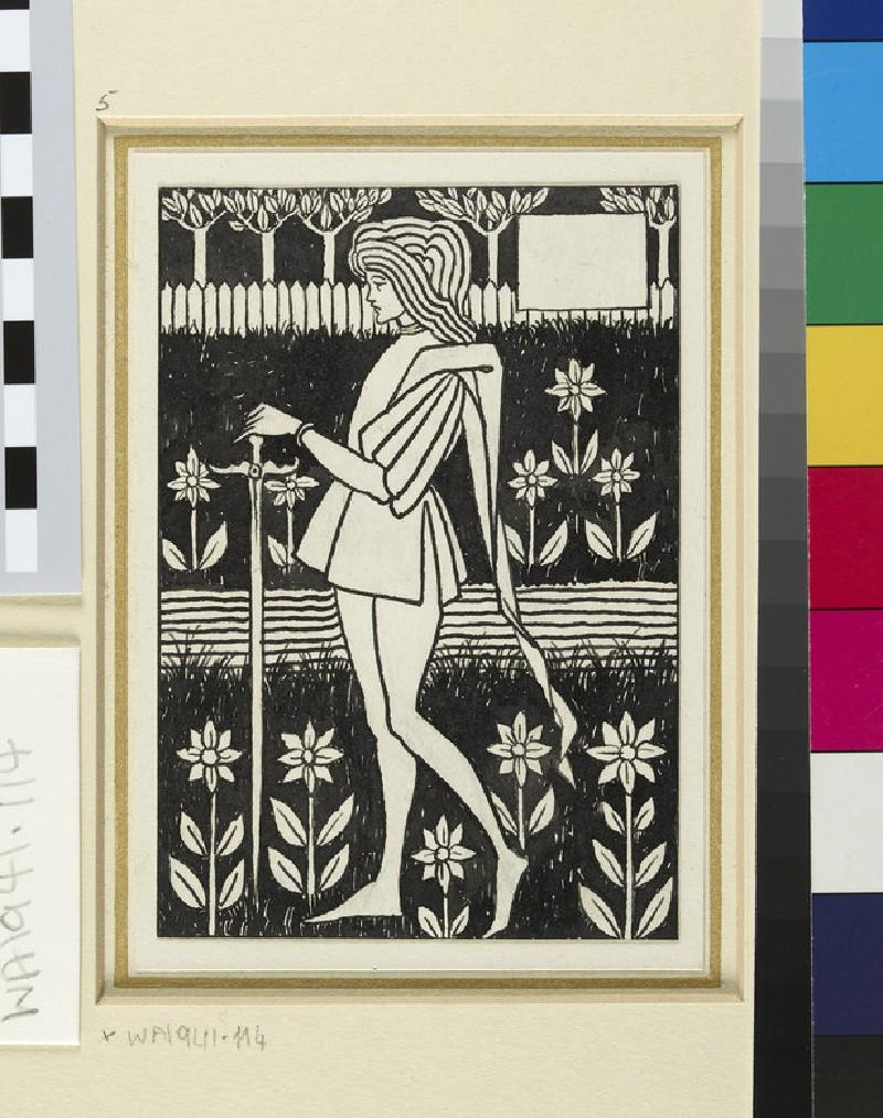 A Page, for Malory's 'Morte d'Arthur'