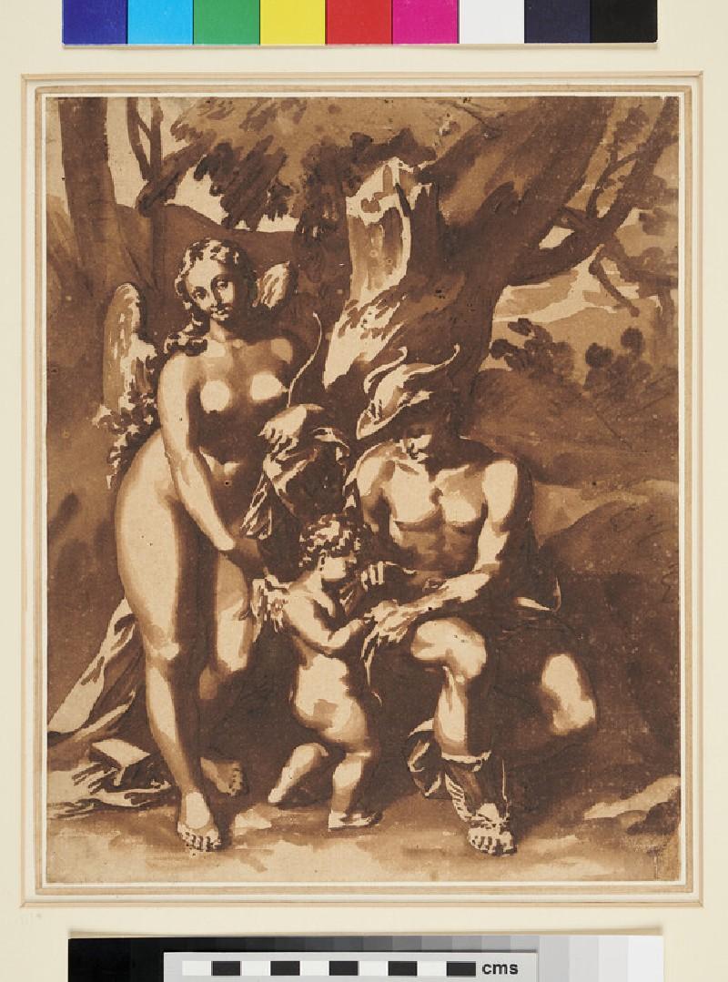 The School of Love, after Correggio