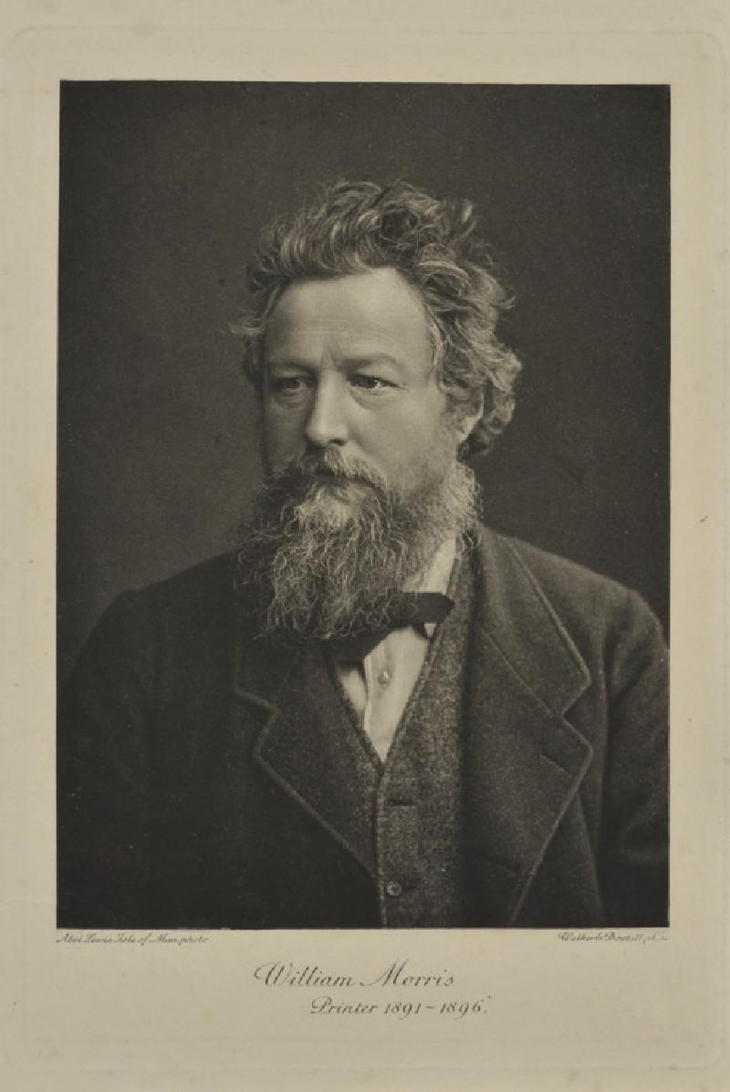 Portrait of William Morris