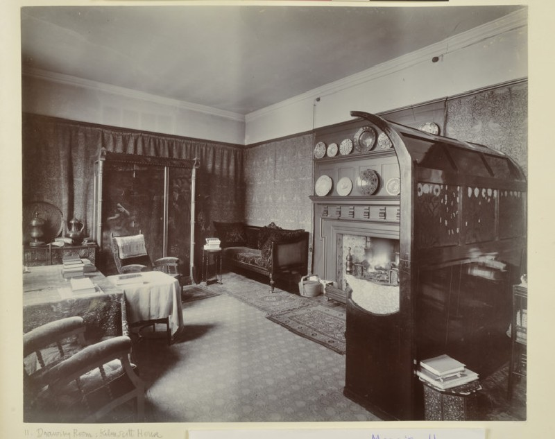 The Drawing Room at Kelmscott House, Hammersmith (WA1941.171.11)