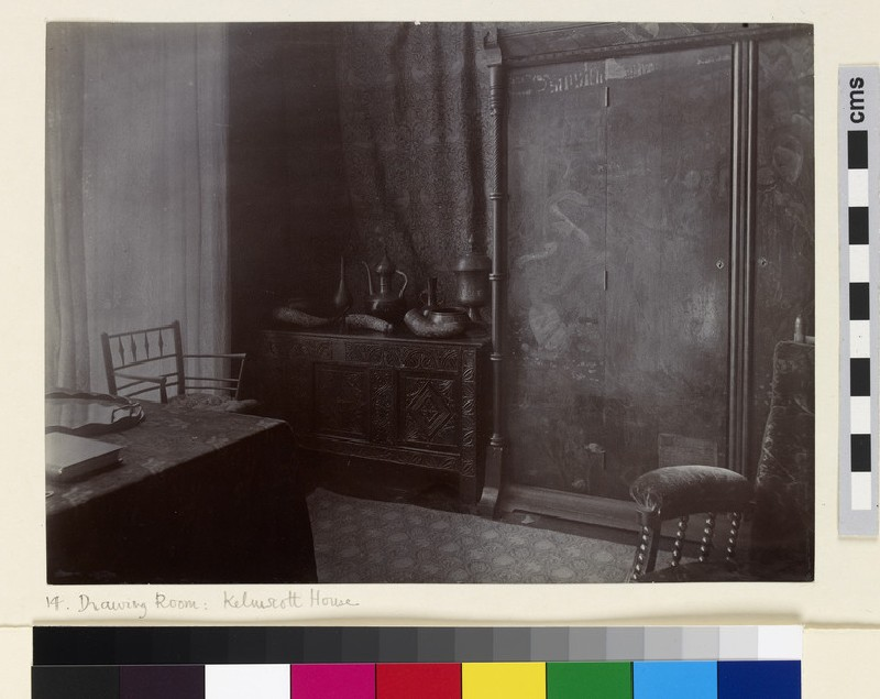 The Drawing Room at Kelmscott House, Hammersmith (WA1941.171.14)
