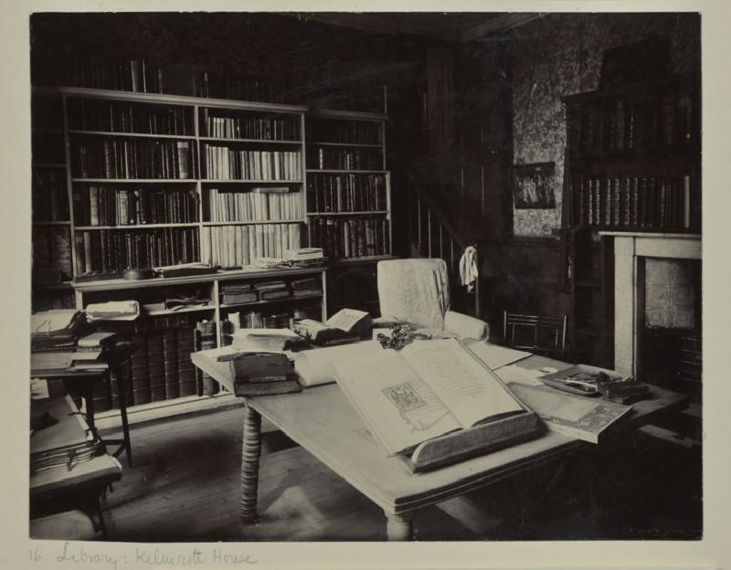 The Library at Kelmscott House, Hammersmith