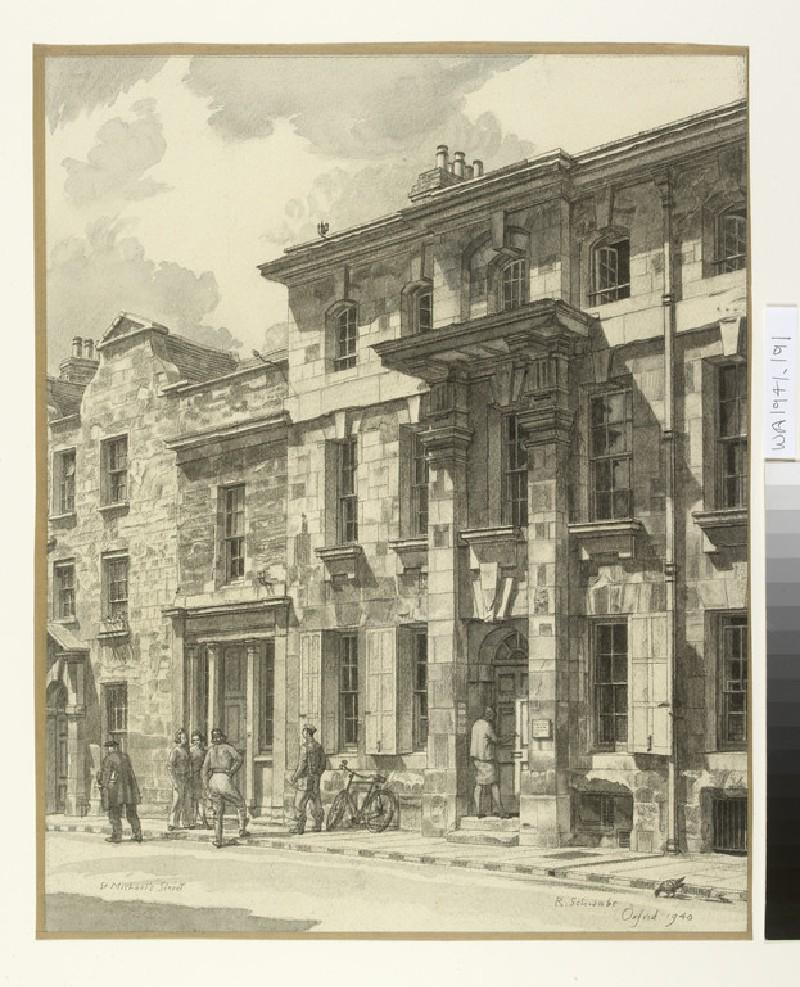 Vanburgh House, St Michael's Street, Oxford (WA1941.191)