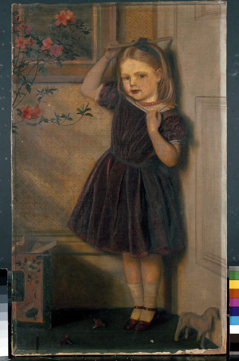 Cecily Ursula, aged three years