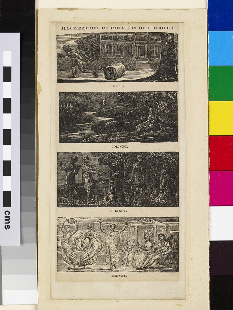 Illustrations of Imitation of Eclogue I: Thenot