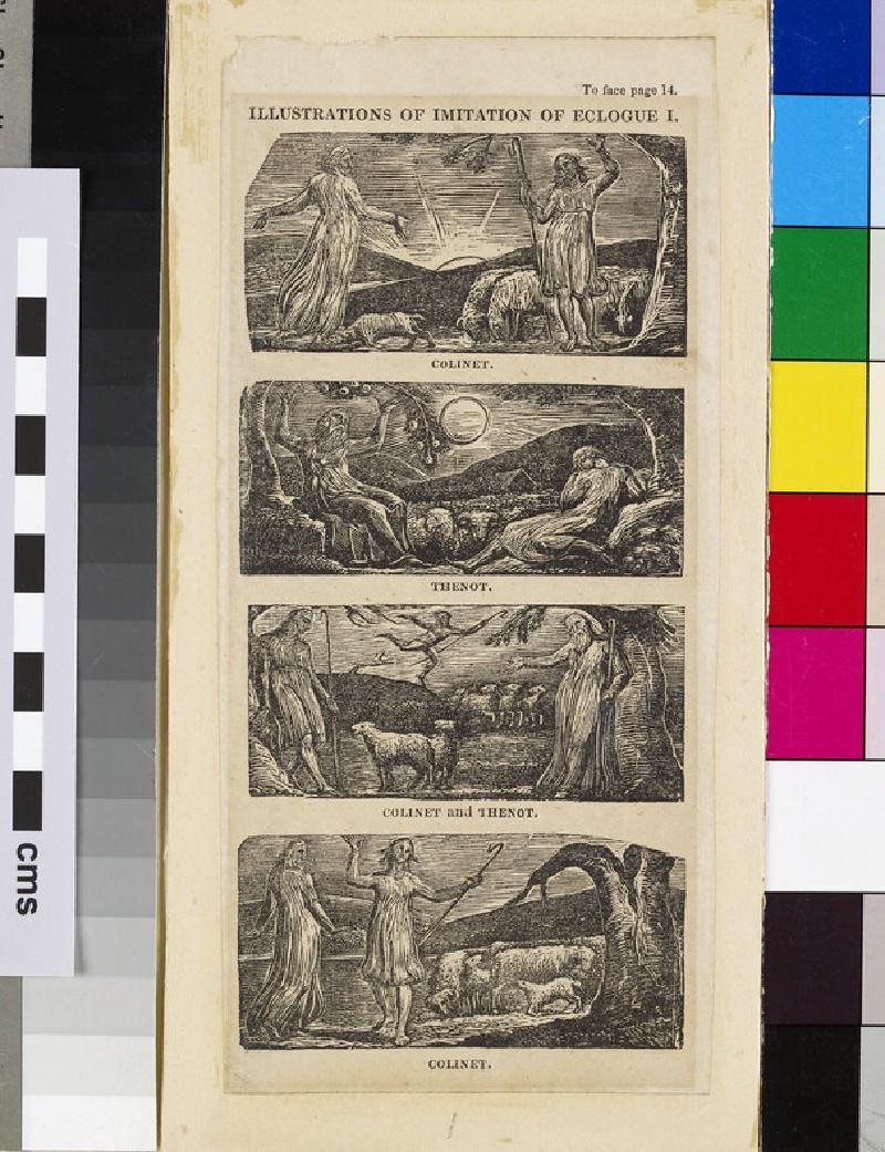 Illustrations of Imitation of Eclogue I: Colinet (WA1941.30.2)
