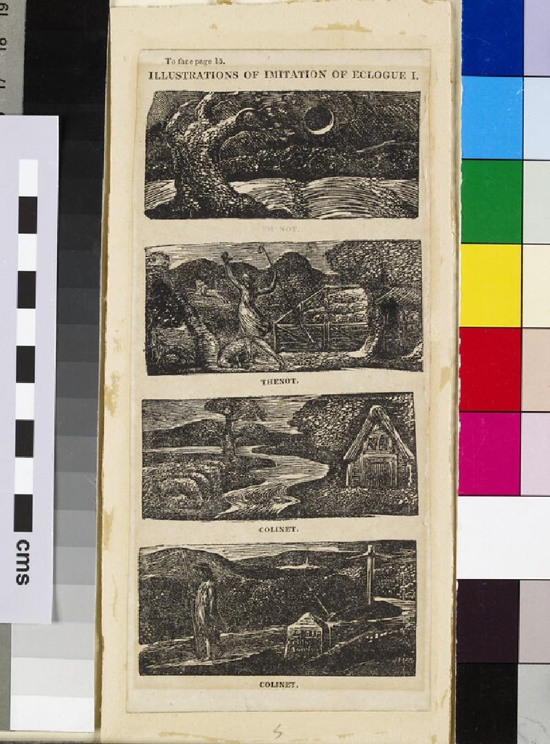 Illustrations of Imitation of Eclogue I: Thenot