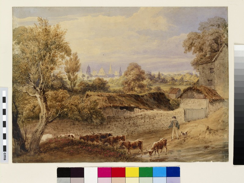 Oxford from Hinksey (WA1941.50)