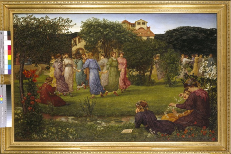 The Dancing Girls (WA1941.65)