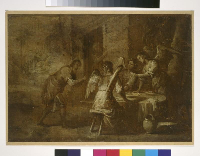 Abraham Greeting the Three Angels (WA1941.97)