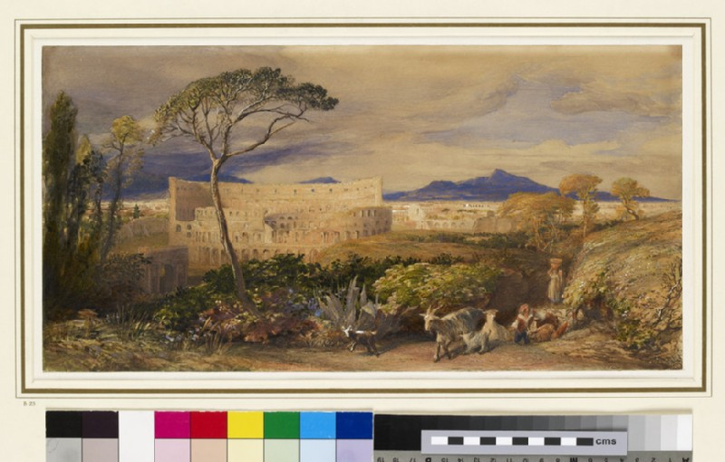The Colosseum and Alban Mount