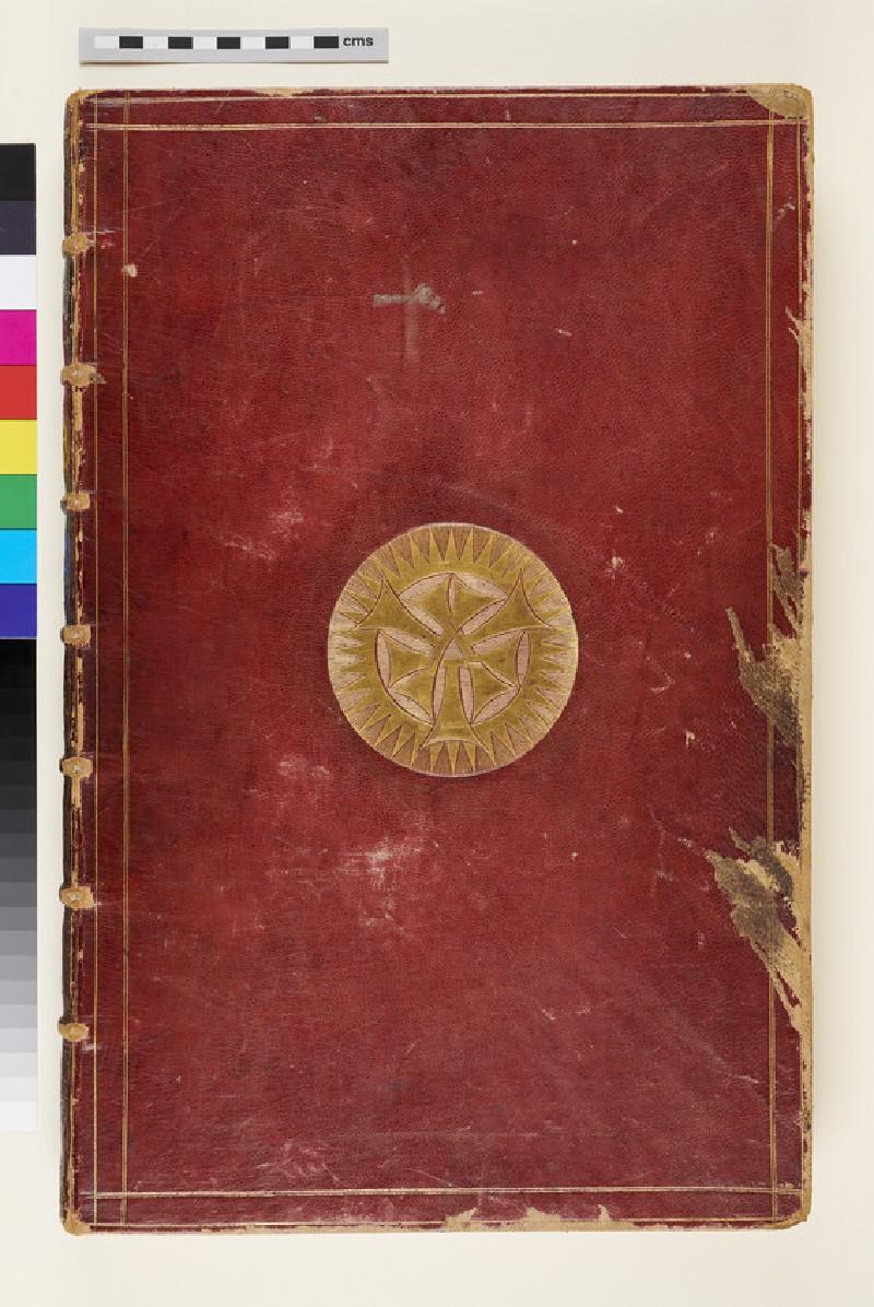 Small Talman album (Gibbs Collection) (verso)