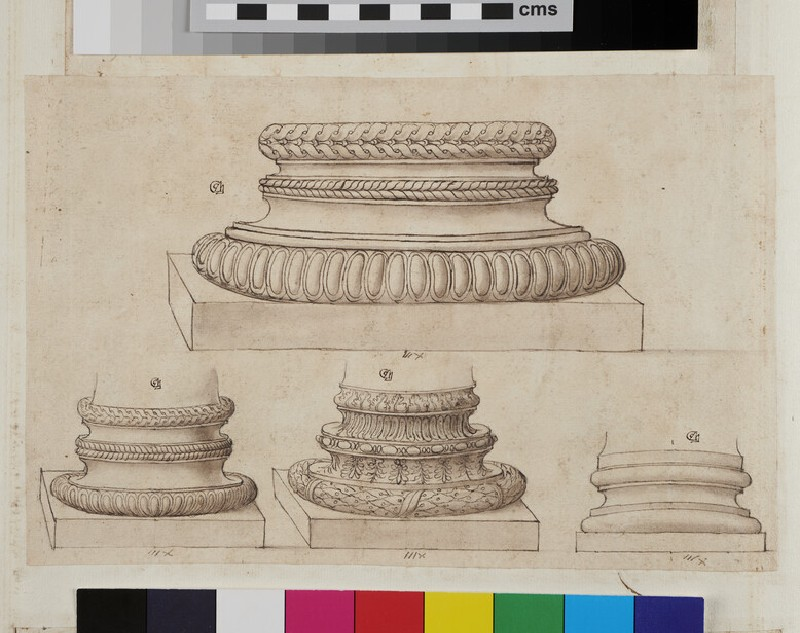 Four column bases