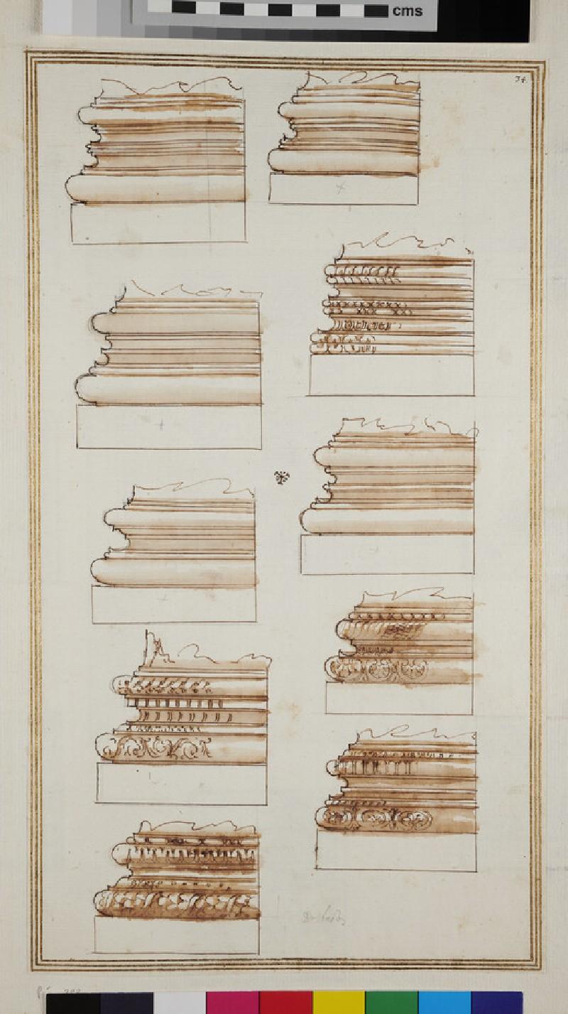 Ten column bases